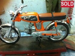 1967 Honda Vintage Orange SOLD